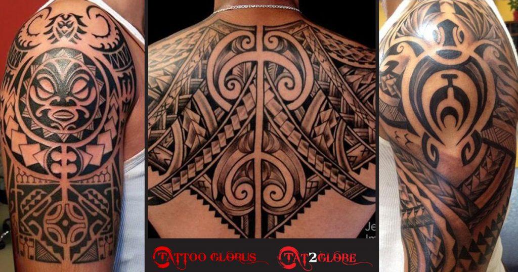 Maori, Polinesian tattoos